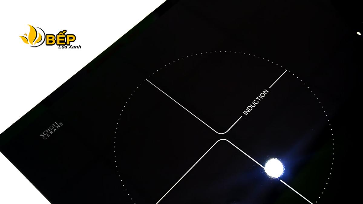 Mặt kính Scott Ceran bếp từ Faster 741G