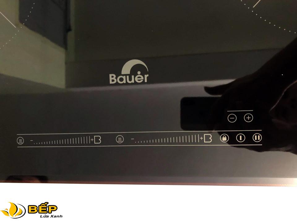 Bêp từ Bauer bảng điều khiển