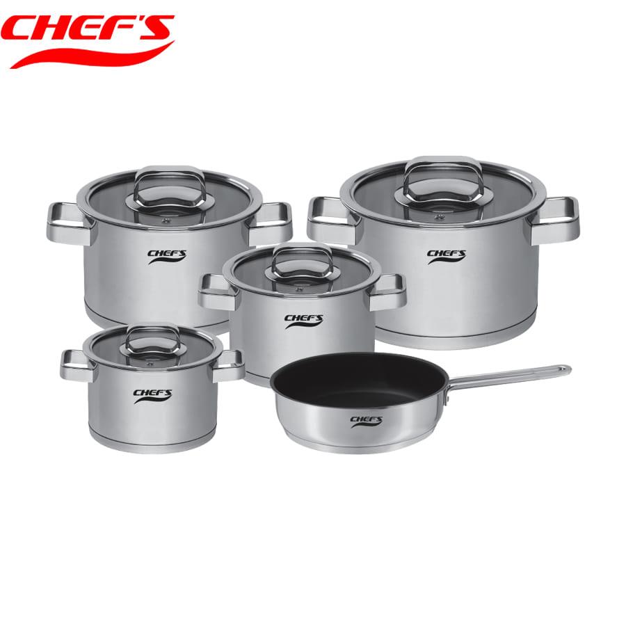Bộ nồi Chefs 6304