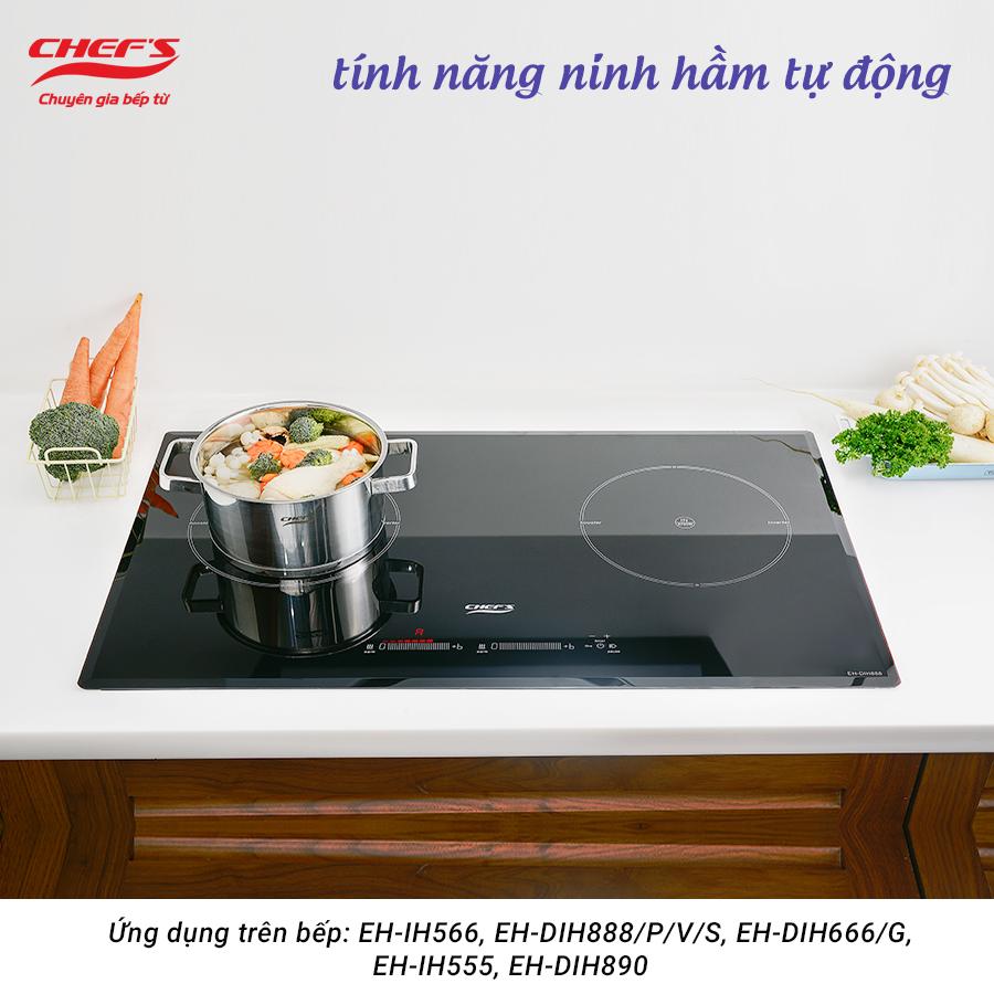 Ninh hầm tự động Bếp từ Chefs